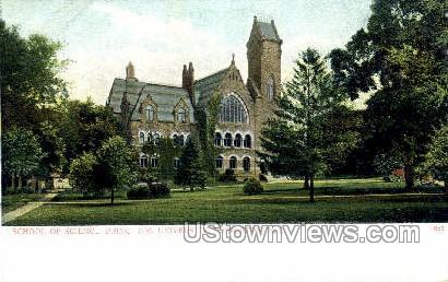 School Of Science  - Princeton, New Jersey NJ Postcard