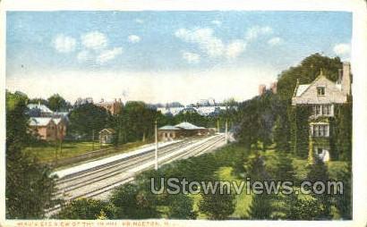 Depot - Princeton, New Jersey NJ Postcard