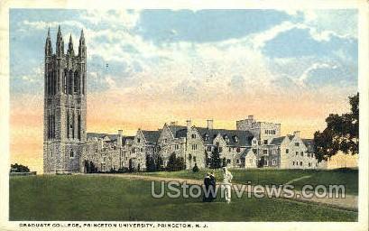 Graduate College Princeton University - New Jersey NJ Postcard