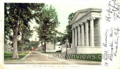 Whig And Clio Halls  - Princeton, New Jersey NJ Postcard