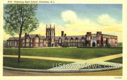 Princeton High School - New Jersey NJ Postcard