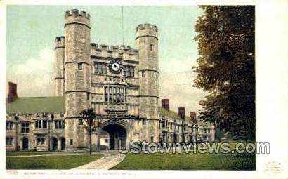 Slair Hall - Princeton, New Jersey NJ Postcard