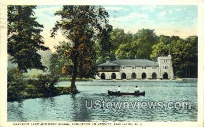 Washington Street Bridge - Princeton, New Jersey NJ Postcard