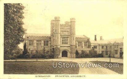 Gym Princeton University - New Jersey NJ Postcard