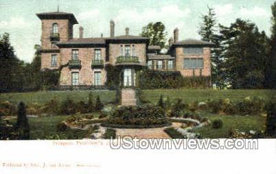 Prospect Presidents Residence - Princeton, New Jersey NJ Postcard