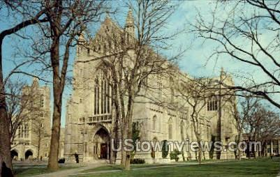 University Chapel - Princeton, New Jersey NJ Postcard
