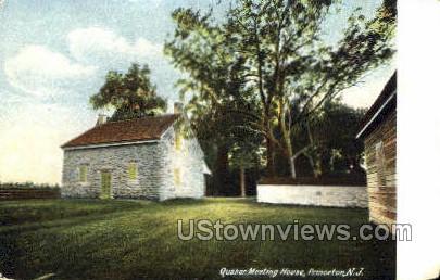 Quaker Meeting House - Princeton, New Jersey NJ Postcard