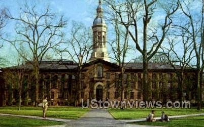 Nassau Hall Princeton University - New Jersey NJ Postcard