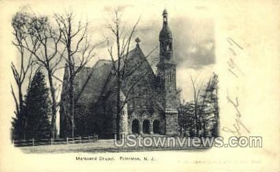 Marquand Chapel - Princeton, New Jersey NJ Postcard
