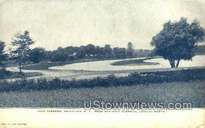 Loch Carnegie  - Princeton, New Jersey NJ Postcard