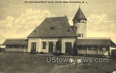 Walker Gordon Gate House - Princeton, New Jersey NJ Postcard