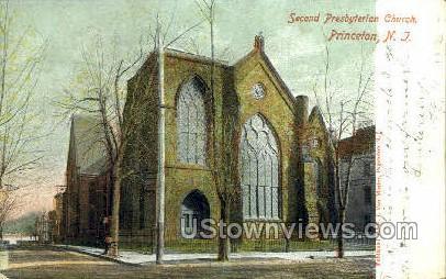 Second Presbyterian Church - Princeton, New Jersey NJ Postcard
