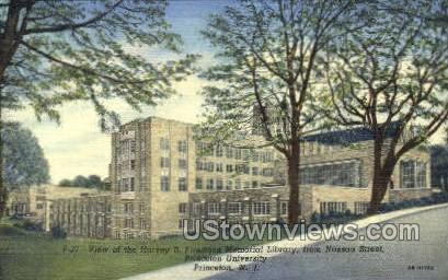 Harvey S Firestone Memorial Library  - Princeton, New Jersey NJ Postcard