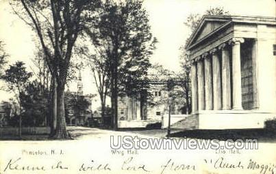Whig Hall - Princeton, New Jersey NJ Postcard