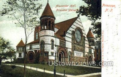 Alazander Hall - Princeton, New Jersey NJ Postcard