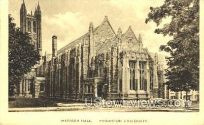 Madison Hall - Princeton, New Jersey NJ Postcard