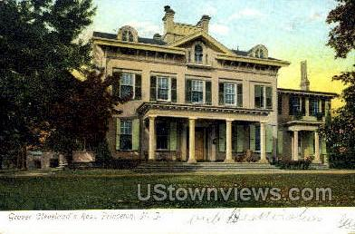 Grover Cleveland Residence - Princeton, New Jersey NJ Postcard