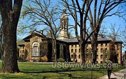 Nassau Hall 1756 - Princeton, New Jersey NJ Postcard