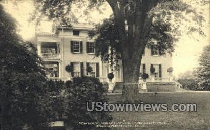 Henry Van Dyke Residence  - Princeton, New Jersey NJ Postcard