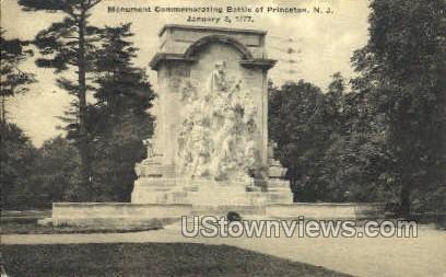 Monument Battle Of Princeton - New Jersey NJ Postcard