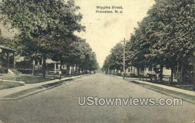 Wiggins Street - Princeton, New Jersey NJ Postcard