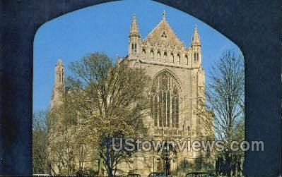 The University Chapel - Princeton, New Jersey NJ Postcard