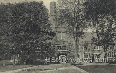 Library  - Princeton, New Jersey NJ Postcard