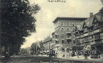 Nassau Street - Princeton, New Jersey NJ Postcard