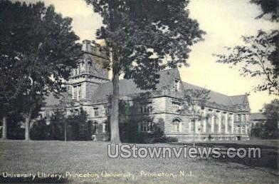 University Library  - Princeton, New Jersey NJ Postcard
