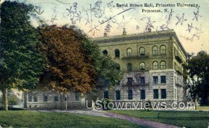 David Brown Hall  - Princeton, New Jersey NJ Postcard