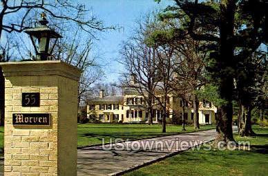 Morven - Princeton, New Jersey NJ Postcard