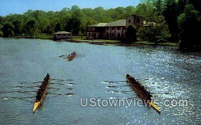 Carnegie Lake - Princeton, New Jersey NJ Postcard