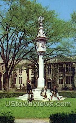 The Mather Sun Dial - Princeton, New Jersey NJ Postcard