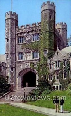 Blair Tower  - Princeton, New Jersey NJ Postcard