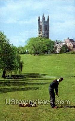 Cleveland Memorial Tower - Princeton, New Jersey NJ Postcard