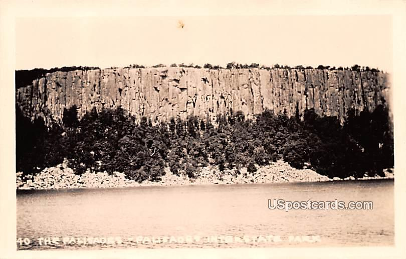 The Palisades - Palisades Interstate Park, New Jersey NJ Postcard