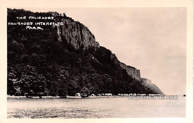 The Palisades - Palisades Interstate Park, New Jersey NJ Postcard