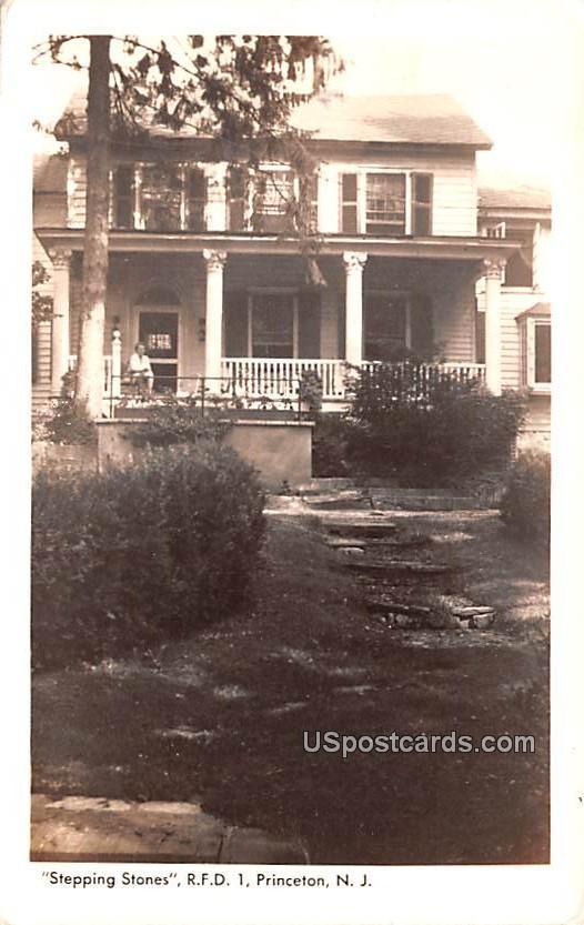 Stepping Stones RFD - Princeton, New Jersey NJ Postcard