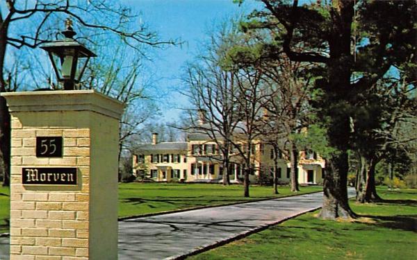 Morven Princeton, New Jersey Postcard