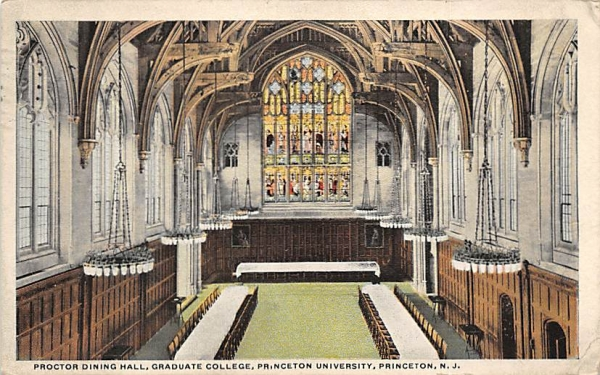 Graduate College, Princeton University New Jersey Postcard