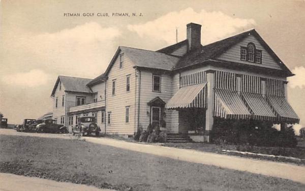 Pitman Golf Club New Jersey Postcard