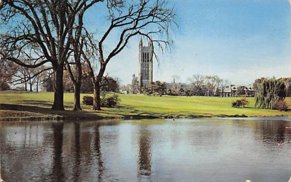 Graduate College and Cleveland Tower Princeton, New Jersey Postcard