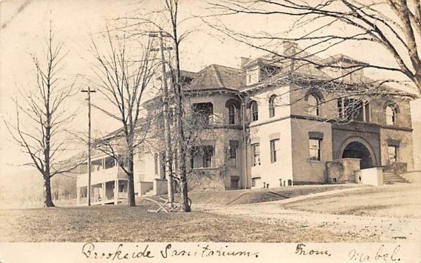 Brookside Sanitarium Plainfield, New Jersey Postcard