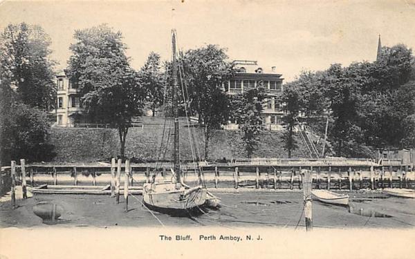 The Bluff Perth Amboy, New Jersey Postcard
