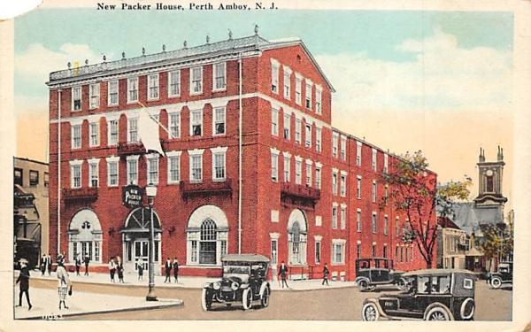 New Packer House Perth Amboy, New Jersey Postcard