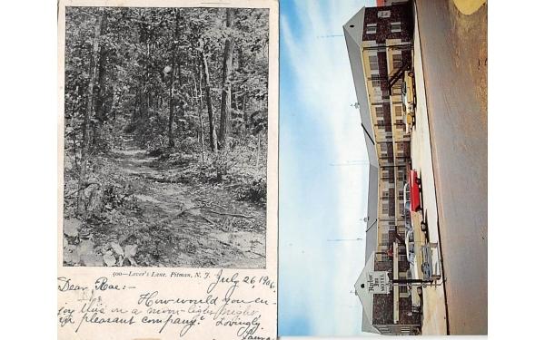 Lvoer's Lane Pitman, New Jersey Postcard