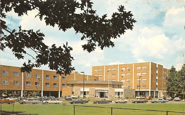 Pitman Manor United Methodist New Jersey Postcard