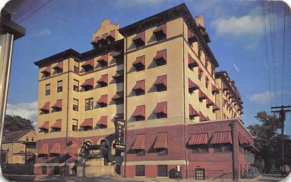 Park Hotel Plainfield, New Jersey Postcard