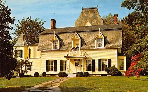 Drake House Museum Plainfield, New Jersey Postcard