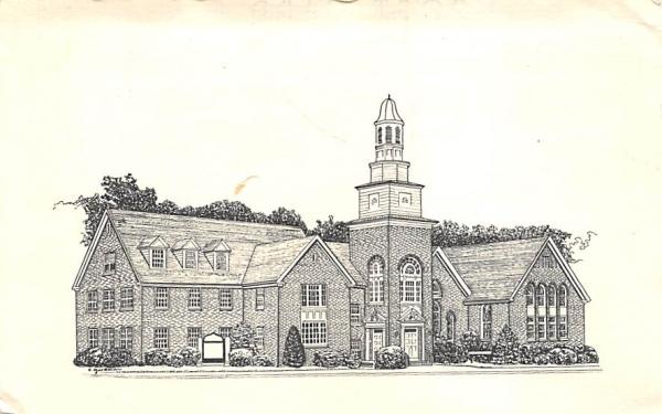 Pitman United Methodist Church New Jersey Postcard